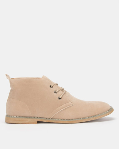 Utopia Natural Casual Lace Up Boot
