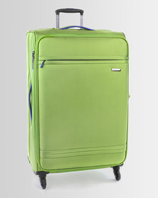 Cellini Cancun 4 Wheel Trolley Case 770mm Lime Green