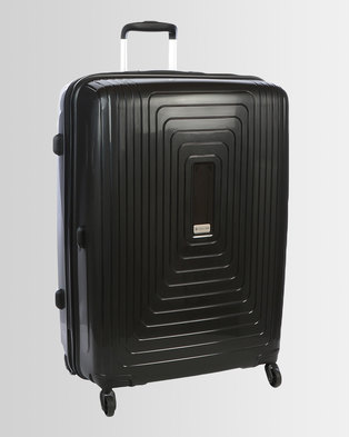 Cellini Flexilite 4 Wheel Trolley Case 750mm Jet Black