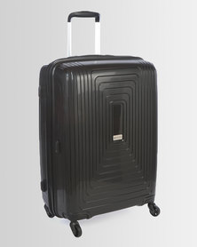 Cellini Flexilite 4 Wheel Trolley Case 650mm Jet Black