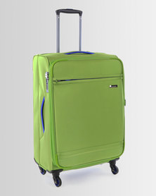 Cellini Cancun 4 Wheel Trolley Case 650mm Lime Green