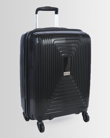 Cellini Flexilite 4 Wheel Carry On Case 450mm Jet Black