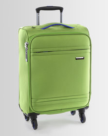 Cellini Cancun 4 Wheel Carry On 520mm Lime Green