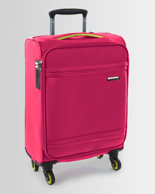 Cellini Cancun 4 Wheel Carry On 520mm Magenta