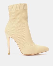 Silva Lux DARA Nude Sock Boot