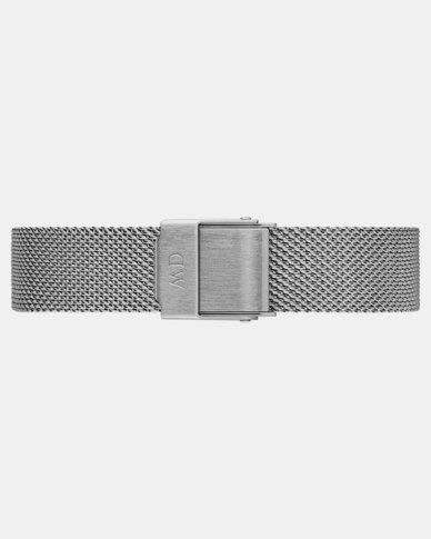 Daniel Wellington DW00200140  Petite 14 Sterling S Stainless Steel Watch Strap Silver