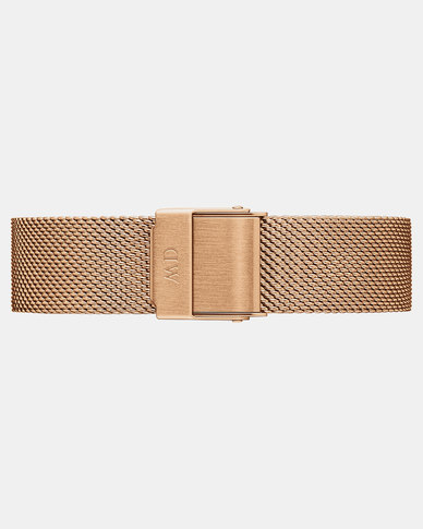 Daniel Wellington DW00200192 Petite 12 Melrose RG Stainless Steel Watch Strap Rose Gold