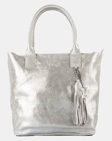 Julz Vera Leather Silver