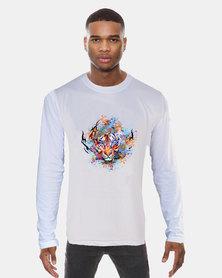 Casa di Cincanra Tiger Long Sleeve T-shirt White