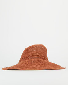 Miss Maxi Foldable Visor Neutral Hat Tan