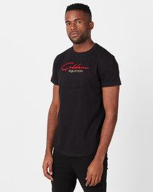 Golden Equation Basic Signature T-shirt Black