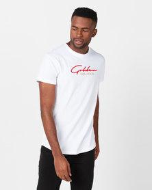Golden Equation Basic Signature T-shirt White