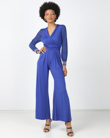 D' Azure Jumpsuit - Blue