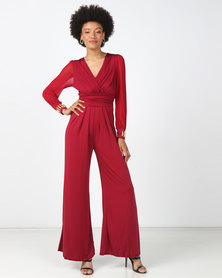 D' Azure Jumpsuit - Red