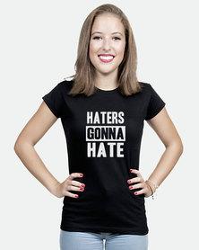 JuiceBubble Haters Gonna Hate T-Shirt Black