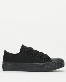 Soviet Viper Low Cut Canvas Sneakers Black
