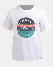 O'Neill Boys Wavos T-Shirt White