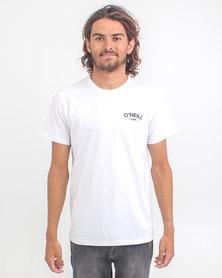 O'Neill Hyperfreak T-Shirt White