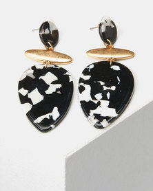 CurAtiv Zurich Drop Earrings Black