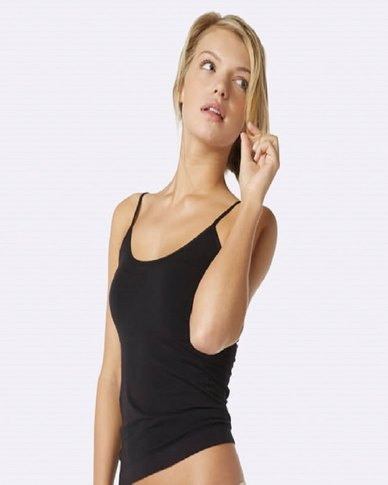 Boody Eco Wear Cami Top Black- 2 Pack