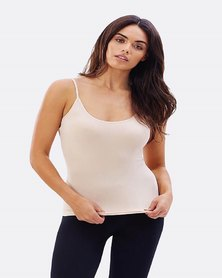 Boody Eco Wear Cami Top Nude and White - 2 Pack