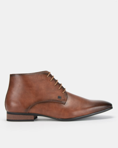 Mazerata Magio 2 Tan Lace Up Boots
