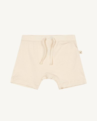Boody Eco Wear Pull On Shorts Sky and Chalk