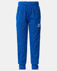 Converse Boys Two Tone Track Joggers Blue