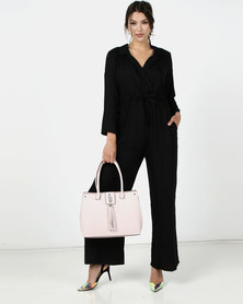 Nucleus Just In Jumpsuit in Black