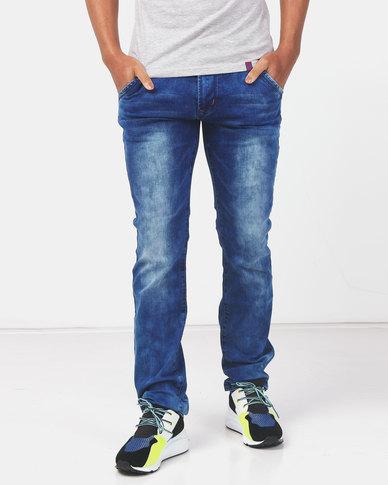 Soviet Maximus #9 Slim Fit Denim Jeans Indigo