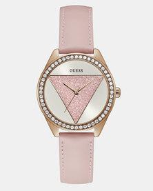 Guess Tri Glitz OD Watch Pink