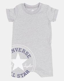 Converse CNVB-Logo Shortall DK Baby Grow Grey Heather