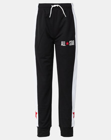 Converse Boys All Star Tricot Track Joggers Black