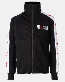 Converse Boys All Star Tricot Track Jacket Black