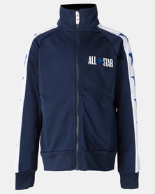 Converse Boys All Star Tricot Track Jacket Obsidian