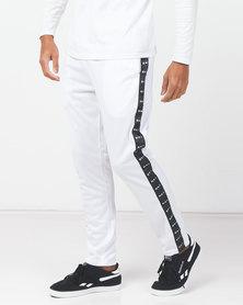 K-Star 7 Tesla Tric Track Pants White