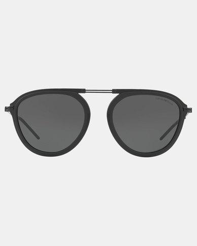 Emporio Armani 0EA2056 300187 Phantos Sunglasses Matte Black