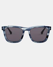 Emporio Armani 0EA4126 572887 Havana Pillow Sunglasses Blue