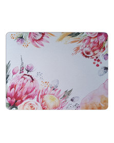 Hey Casey! Rectangular Mouse Pad - Watercolor Proteas