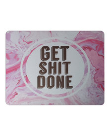 Hey Casey! Rectangular Mouse Pad - Get Shit Done