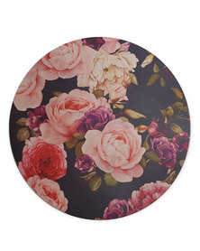 Hey Casey! Round Mouse Pad - Roses