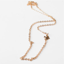 We Heart This Gold Dove Chocker Necklace