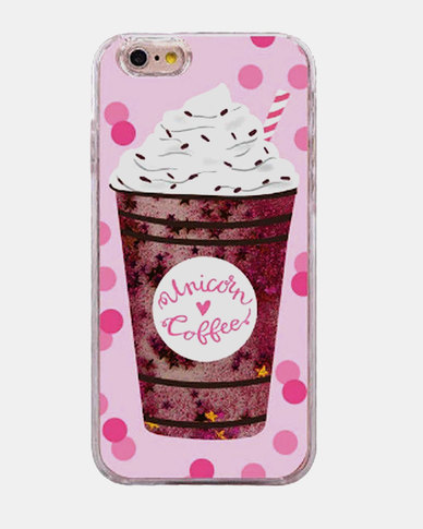 the best attitude 2d452 27d4c Naked Eyewear Unicorn Coffee Glitter iPhone 7 Cover