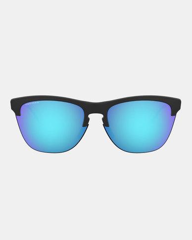 Oakley Prizm Sapphire Sunglasses Matte Black
