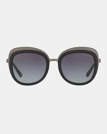 Emporio Armani 0EA2058 30108G Square Sunglasses Matte Black