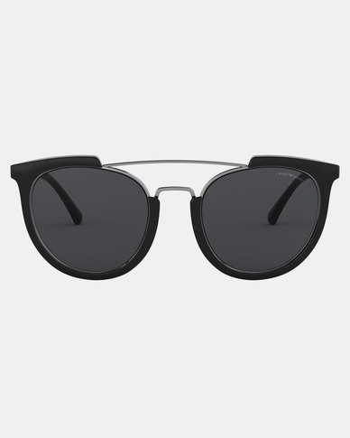 Emporio Armani 0EA4122 501787 Irregular Sunglasses Black