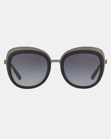 Emporio Armani 0EA2058 30108G Square Sunglasses Matte Gungmetal