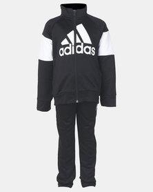 adidas Performance Youth Boys Tracksuit BOS Black