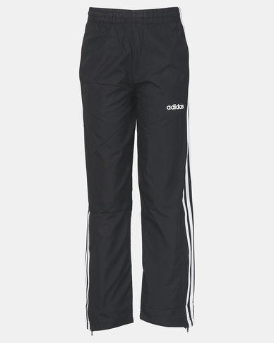 adidas Boys E 3S Woven Pants Black