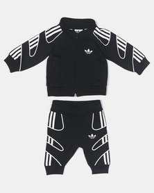 adidas Originals Infants Flamestrk Tracksuit Black